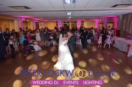 Buile Hill Park Hall Wedding Lighting