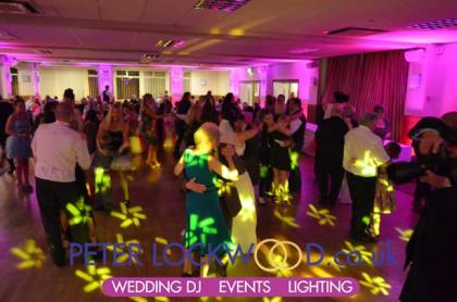 Buile Hill Park Hall Wedding Lighting