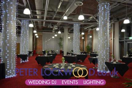 pennine suite wedding llighting