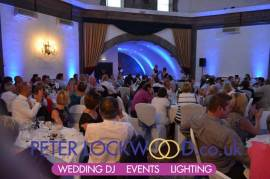 mood lighting Shrigley Hall Hotel