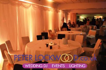 novotel worsley wedding lighting