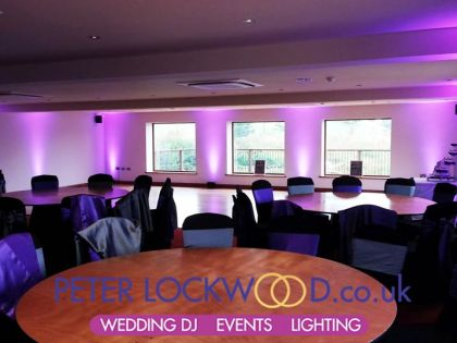 Fishermans Retreat Ramsbottom wedding lighting