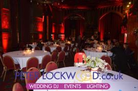 manchester town hall wedding uplighting