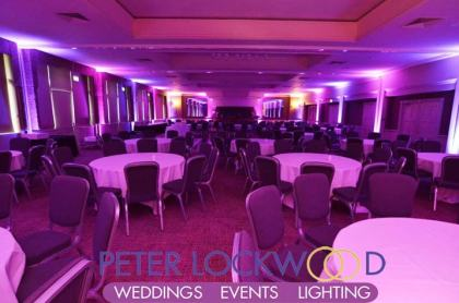 The Mere event lighting