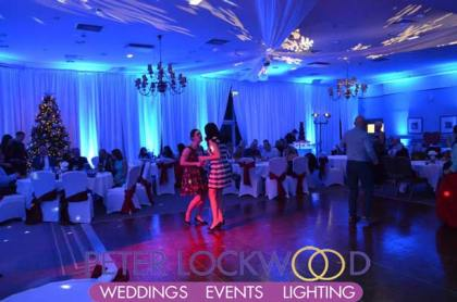 Kilhey Court Wedding UpLighting