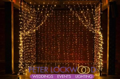 fairy light wedding box
