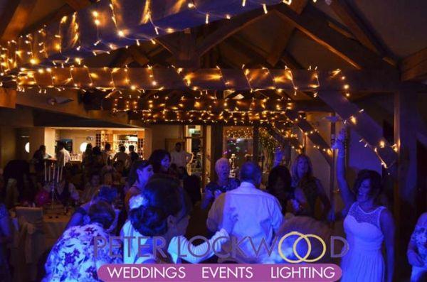 oak beam fairy lights