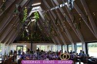 Brockholes Nature Reserve Wedding Lighting