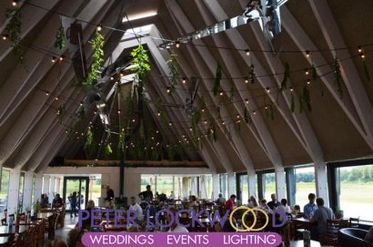 Brockholes Nature Reserve Wedding Lighting