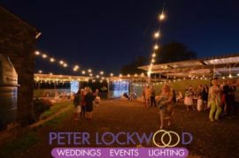 farm festoon lighting