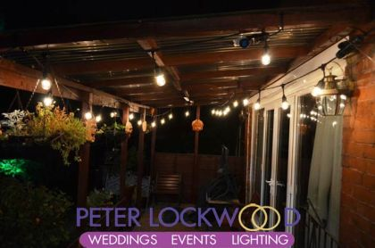 garden party festoon lighting