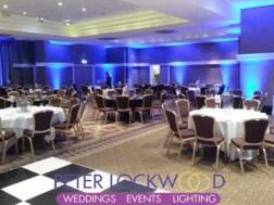 midland hotel blue lighting