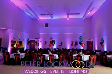 Irish World Heritage Centre wedding lighting