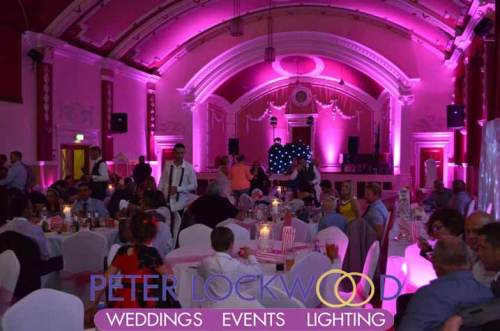 pink-wedding-lighting-in-chadderton-town-hall