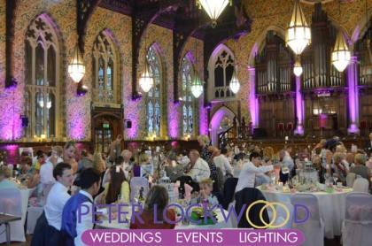 pink-wedding-lighting-in-rochdale-town-hall