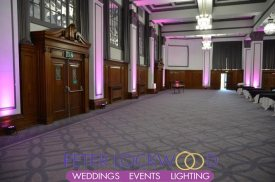 Principal Hotel Manchester UpLighting
