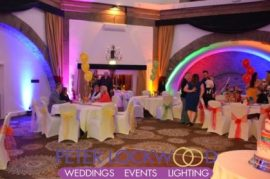 Shrigley Hall UpLighting