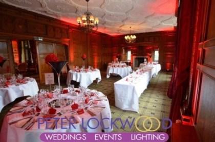 Inglewood Manor UpLighting by Peter Lockwood Events