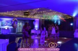 swindon golf club fairy light canopy