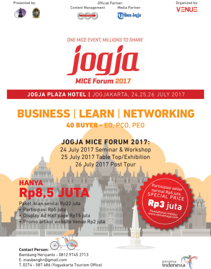 Jogja MICE Forum 2017