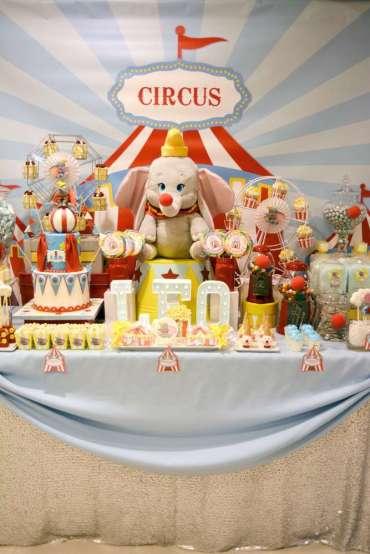 Circus Theme Birthday Party 2