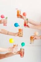 Multicoloured Balloon Theme Decoration food 4