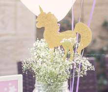 Unicorn Theme Birthday Party Decor 8