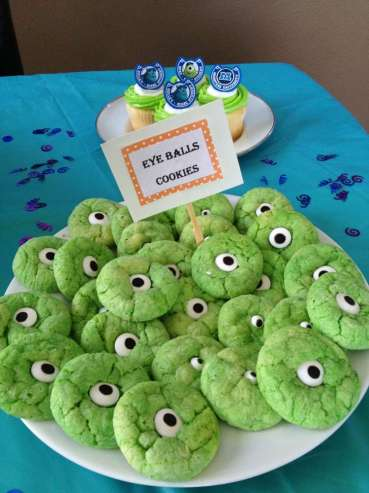 Monster Theme Birthday Party Food 2