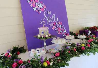 Butterfly Theme Birthday Party Decoration 3