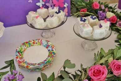 Butterfly Theme Birthday Party Food 2