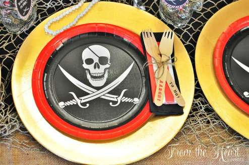 8 Year Old's Pirate Theme Birthday Party