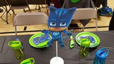 PJ Masks Theme Birthday Party Decoration 3