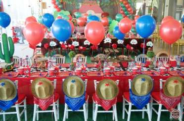 Cowboy Theme Birthday Party Venue 3