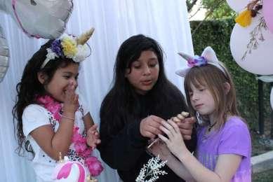 Unicorn Theme Birthday Party Fun 3