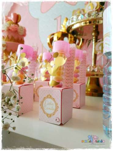 Gold Princess Theme Birthday Party Food 3