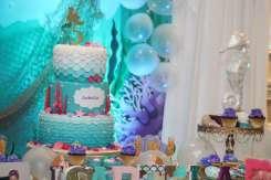 Little Mermaid Theme Birthday Party Decoration 4