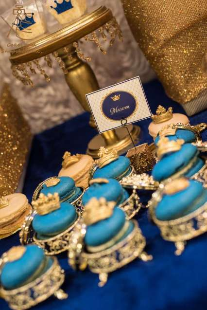 Royal Prince Theme Baby Shower Food 7