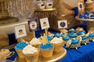 Royal Prince Theme Baby Shower Food 8