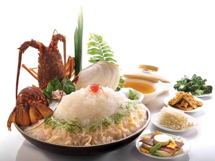 Lobster & Geo Duck Sashimi