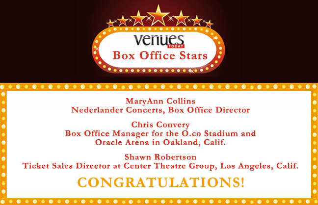 2012 Box Office Stars!