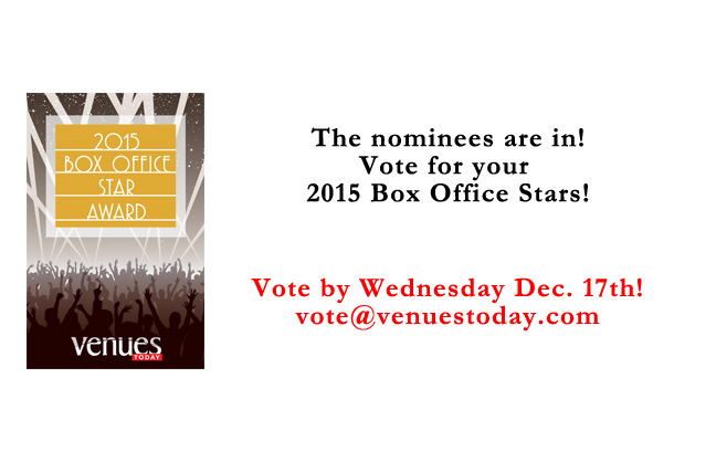 Vote for your 2015 Box Office Stars!