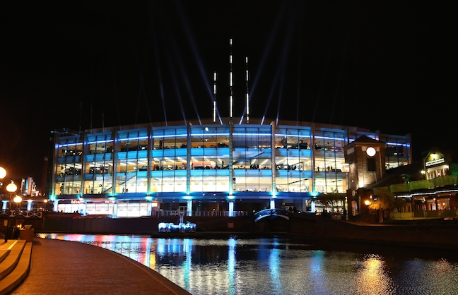 Barclaycard Arena to Host Davis Cup