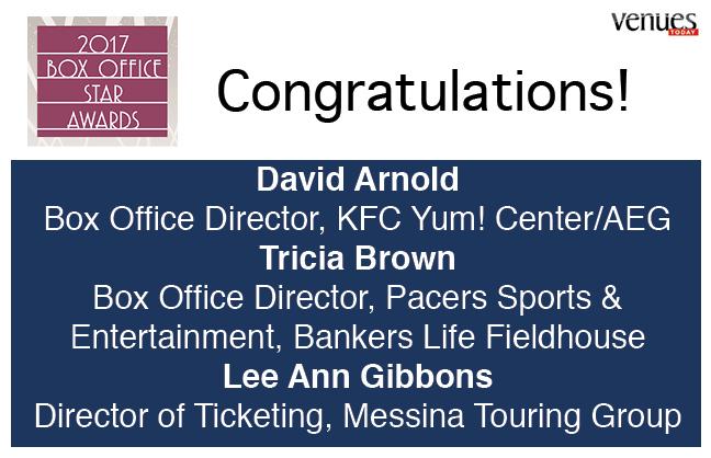 Congratulations 2017 Box Office Stars!