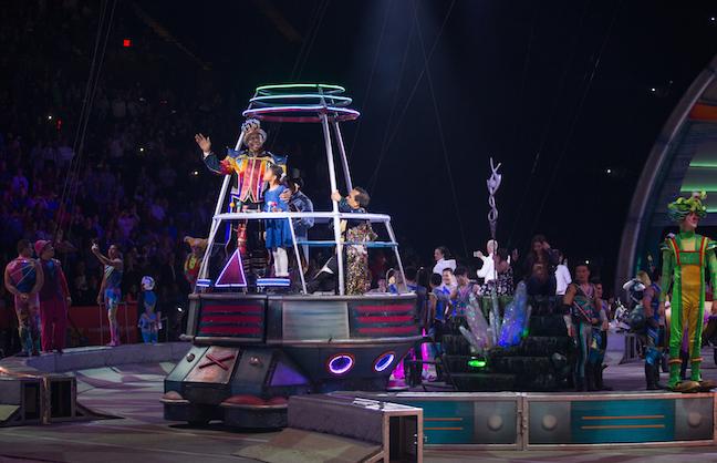 Ringling Circus Brings the Curtain Down