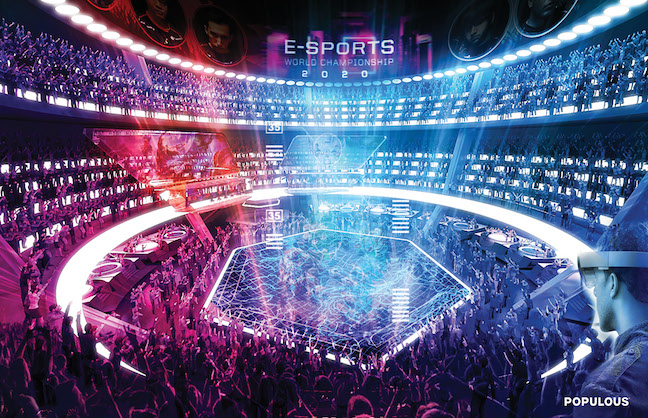 eSports Demands New Venue Design