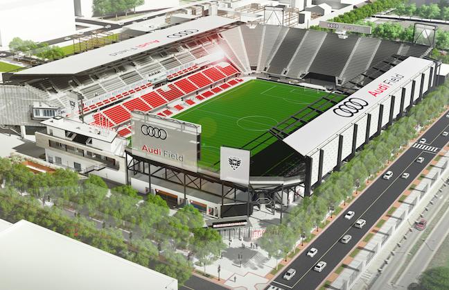 D.C. United Stadium Executive Departs