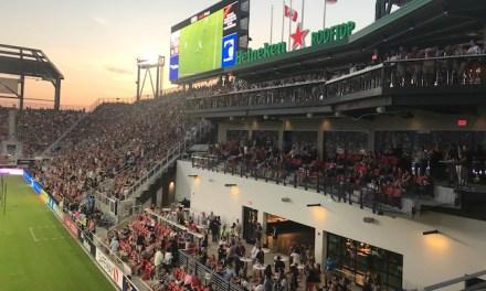 Inside Audi Field's Opening Night