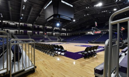 COLLEGES' 'NEW' ARENAS COME EQUIPPED WITH MEMORIES