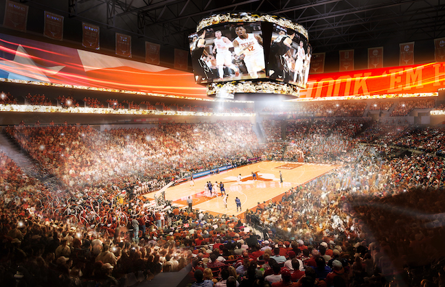 OVG To Develop University of Texas Arena