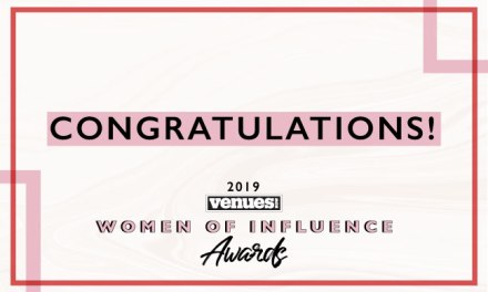 Congratulations 2019 VenuesNow Women of Influence!